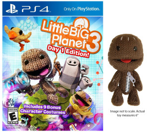 LittleBigPlanet 3 Plush Edition PS4