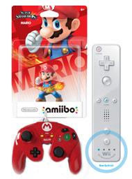 Mario amiibo controller bundle