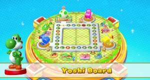 Mario Party 10 Yoshi amiibo board
