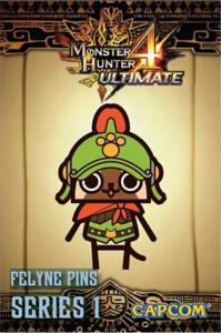 Monster Hunter 4 Ultimate Pre-Order Pin