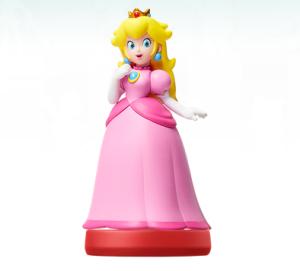 Peach amiibo Super Mario