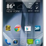 Sharp Aquos Crystal No Contract Android Smartphone $130 at Amazon