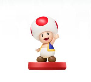 Toad amiibo Super Mario