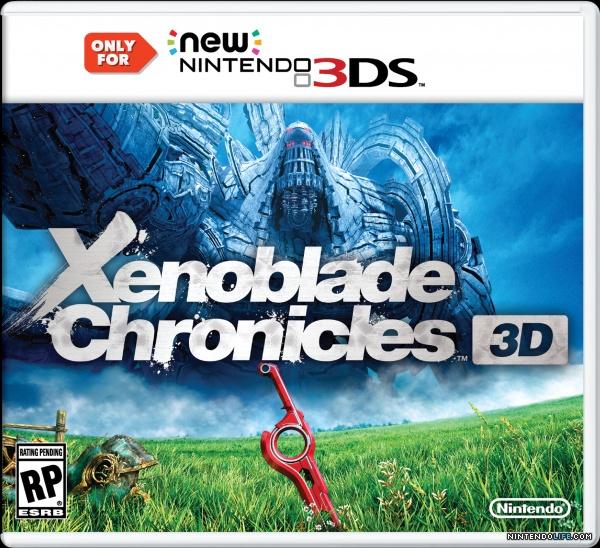 Xenoblade Chronicles 3D new Nintendo 3DS XL